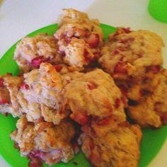Ricotta & strawberry scones