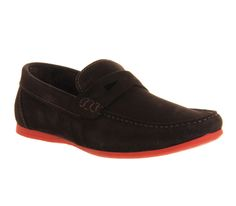 62fb286a2ba Ask the Missus Orlando Penny Loafer Brown Suede Red Sole - Casual Red Sole