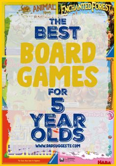 Discover the best board games for 5-year-olds. Find your new favorite game for family game night by exploring our top 10 list of our personal favorite family board games for age 5. The games on this list will be beloved for many years to come. #boardgamesforkids #bestboardgames #familyboardgames #kidsgames #familygamenight #boardgames #boardgamesfor5yearolds #giftsforkids #dadsuggests Rainy Day Activities For Kids, Activities For 2 Year Olds, Memory Games For Kids, Fun Activities, Family Board Games, Board Games For Kids, Concentration Games, Boredom Busters For Kids, History For Kids