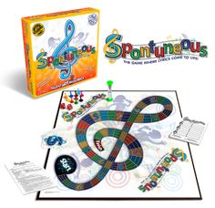 Spontuneous Party Board Game