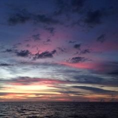 So beautiful :) these types of sunsets are my favorite <3