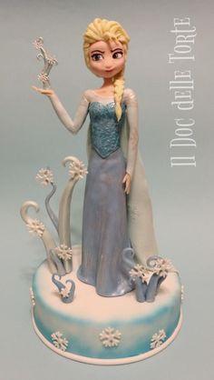 Elsa topper - Cake by Davide Minetti