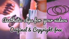 You can use these aesthetic clips in your videos or vlogs. They are shot and edited by me, so they are 100% original and copyright free. #aesthetic #aestheticedits #youtube #copyrightfree #original #sparkle #makeup #nature #retro #vintage Sparkle Makeup, 90s Aesthetic, You Videos, Retro Vintage, Channel, The Originals, Nature, Youtube, Free