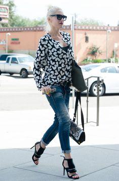 Gwen Stefani Photos - Gwen Stefani Takes Her Kids to Church in North Hollywood - Zimbio