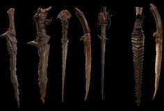 The Hobbit: The Desolation of Smaug - Gundabad Orc Weapons Weta Workshop