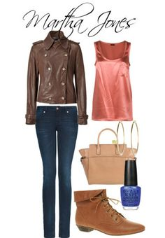 Doctor Who inspired wardrobe:  Martha