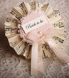 Hen Party Rosettes - wedding fashion