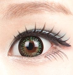 Gorgeous green colored contact lenses (circle lens)! These Princess Mimi Apple Green contacts have a 3 tone gradient to completely cover your natural eye color. Perfect for gyaru makeup! Shop now: http://www.eyecandys.com/geo-bambi-princess-mimi-apple-green/. Authenticity Guaranteed & FDA Approved.