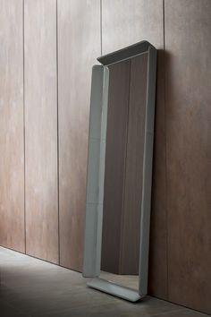 GENTLEMAN Mirror by Flou design Carlo Colombo