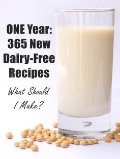 In One Year, I'll Trial 365 Dairy-Free Recipes! What Should I Make? #365dairyfree