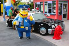 The Simpsons Ride - Orlando - Commissaire