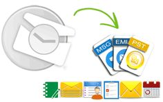 Convert OST to PST freeware tool to convert Outlook OST emails to PST with embedded attachments and recovery of all orphaned offline data from Outlook components including notes, calendars, contacts, journals, tasks, mail folders etc
