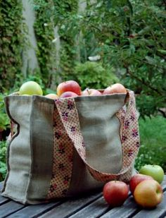 An Apple Picking Tote | Purl Soho