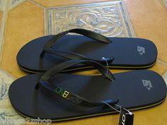 Men's O'neill flip flops thongs sandals 9 friction 2 rasta 12184307 red green