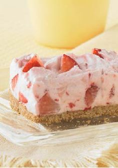 PHILADELPHIA Strawberry Fields No-Bake Cheesecake – This creamy strawberry no-bake cheesecake will be a sure winner at your next gathering.