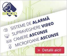 gamă largă de produse din diferite categorii și anume: Sisteme de supraveghere, Sisteme de Alarmă antiefracție, Produse de spionaj, Optica sportive, Interfoane și Videointerfoane etc.