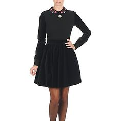 Kurze Kleider Manoush ROBE FLEURETTE Schwarz 237.00 €