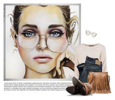 """""""Monday, Monday"""" by leegal57 ❤ liked on Polyvore featuring Oliver Peoples, Steve Madden, women's clothing, women's fashion, women, female, woman, misses and juniors"""