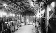 [1911] Workshop in Puteaux / Hangar à Puteaux