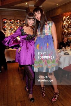 Yasmine Penniman and Zuleika Penniman (Mika's sisters)