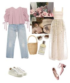 """""""day to night date"""" by rsussher ❤ liked on Polyvore featuring Levi's, Caroline Constas, rag & bone, Temperley London and Liberty"""