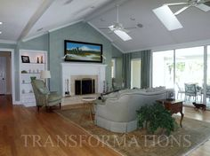 Staged living room of the Ponte Vedra home that had 2 offers in 24 hours of listing.