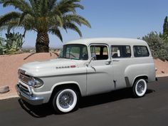 '61 Dodge TownWagon... Re-pin brought to you by #HouseofIns. #EugeneOr for #Autoinsurance.