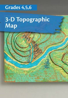 Your students will love building this 3-D topographical map to help them understand geography and its terminology.