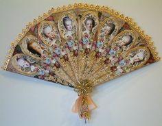 Oh my goodness! Beautiful hand fan