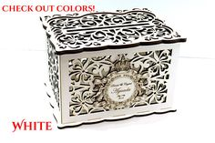 WEDDING MONEY BOX, Personalised  Wedding Card Box, Savings box, Wedding Card Holder, Wooden Money Bo