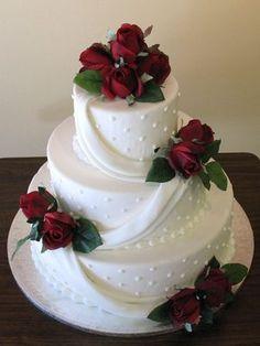 round tier wedding cake three layers - Google Search