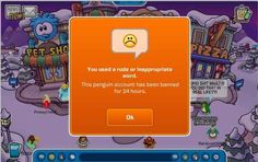 The 24 Easiest Ways To Get Banned From Club Penguin