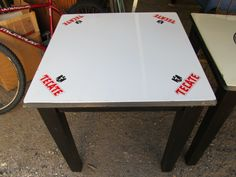 Barrio Antiguo Custom Furniture  Tecate Beer Vintage Table