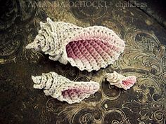 Ravelry: Crochet Conch Shell and Starfish pattern by Thomasina Cummings Designs