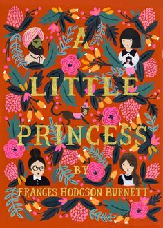 A Little Princess - Puffin in Bloom books (ILLUSTRATION - Anna Bond)