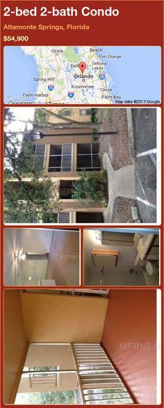 2-bed 2-bath Condo in Altamonte Springs, Florida ►$54,900 #PropertyForSale #RealEstate #Florida http://florida-magic.com/properties/92353-condo-for-sale-in-altamonte-springs-florida-with-2-bedroom-2-bathroom