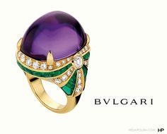 Bvlgari - Amethyst Cabochon Ring