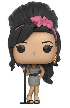 Funko POP Rocks: Amy Winehouse Action Figure Amy Winehouse as a stylized POP vinyl from Funko! Stylized collectable stands 3 inches tall, perfect for any Music fan! Collect and display all Music POP! Funko Pop Dolls, Funko Pop Figures, Pop Vinyl Figures, Amy Winehouse, Pop Rocks, Freedie Mercury, Biscuit, Pop Rock Music, Frida Khalo