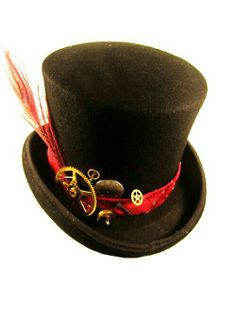 84e8e663098 Mens Formal Steampunk Top Hat from Dark Knight Armoury - loving the lock and  key…