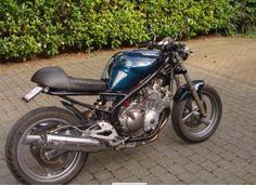 Yamaha Diversion xj600 (caferacer) - My bike !