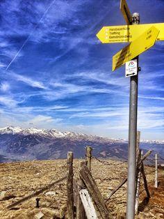 Etappe 1 des Millstätter See Höhensteigs bzw. am Alpe Adria Trail - Etappe 12 in… Carinthia, Wind Turbine, Austria, Wanderlust, Album, National Forest, Tours, Hiking, Viajes
