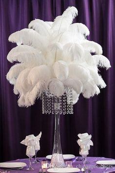CHINAZP Factory Hot Sellling 20-25cm8~10inch DIY Ostrich Feathers Plume Centerpiece for Wedding Party Decorations Online with $0.37/Piece on Chinazpfeathers's Store | DHgate.com