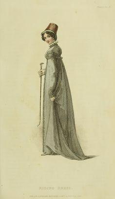 EKDuncan - My Fanciful Muse: Regency Era Fashions - Ackermann's Repository 1818