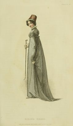 EKDuncan - My Fanciful Muse: Regency Era Fashions - Ackermann's Repository 1818