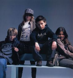 Another week, another #throwbackthursday. Caption this picture from our archive. #tt #2004 #04 #00s #fashion #style #oldskool #mexx #mode #archive #kids