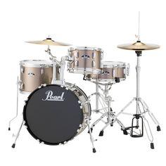 Pearl Roadshow Rs584 4-piece Bronze Drum Set