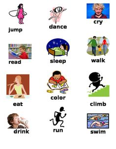 Free! Action-Verbs