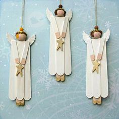 navidad manualidades faciles madera