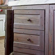 Creative Kitchen Cabinet Ideas: Cabinetry Disguise