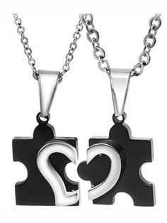 couples necklace
